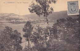 Corbion Vue Sur Poupehan Circulée En 1922 - Bouillon