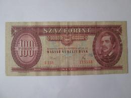 Hungary 100 Forint 1975 Banknote - Hungary