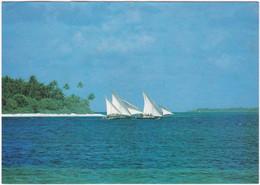 Gf. REPUBLIC OF MALDIVES. Dohni, Fishing-boat - Maldives