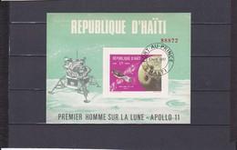 BLOCS  APOLLON 11 1G75  NEUF **N°29 YVERT ET TELLIER 1969 - Haiti