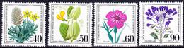 BRD FGR RFA - Gefährdete Ackerwildkräuter (MiNr: 1059/62) 1980 - Postfrisch MNH - Unused Stamps
