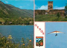 65 - Genos - Multivues - Blasons - CPM - Voir Scans Recto-Verso - Autres Communes