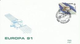 BELGICA, CARTA CONMEMORATIVA  EUROPA 91 - Storia Postale