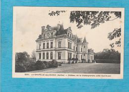 La Chapelle-aux-Choux. - Château De La Châtaigneraie, Côté Sud-Ouest. - Autres Communes