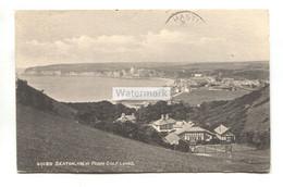 Seaton From Golf Links - 1911 Used Postcard, Duplex Postmark - Otros