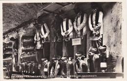 Palermo - Catacombe Dei Cappuccini. Corridoi Dei Sacerdoti Vera Fotografia Di A. Campassi - Palermo