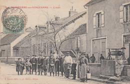 CPA - DAMPIERRE-SUR-VINGEANNE (CÔTE D'OR) - BELLE ANIMATION DEVANT L'ECOLE - Other Municipalities