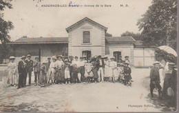 ANDERNOS LES BAINS  - AVENUE DE LA GARE - Andernos-les-Bains