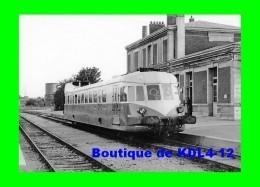 AL 505 - Autorail Renault ABJ 3 En Gare - LOUVIERS - Eure - SNCF - Louviers