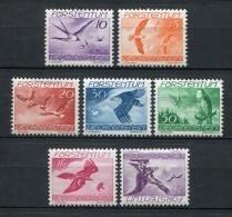 Liechtenstein 1939. Yvert A 17-23 ** MNH. - Air Post