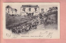 OLD  POSTCARD    1900'S - SIERRA LEONE - FREETOWN -  RING'S JAMES WHARF - Sierra Leone