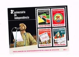 3 ème Anniversaire De L'indépendance. - Mosambik
