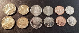 Nueva Zelanda Set 6 Monedas 5 10 20 50 Cents 1 2 Dólares 2000 - 2008 SC UNC - New Zealand