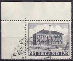 IS054 – ISLANDE – ICELAND – 1952 – PARLIAMENT BUILDING – Y&T # 238 - USED 20 € - Gebraucht