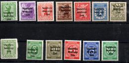 SBZ Deutschland 200 A - 206 A, 200 B, 207 - 211. Mnh ** Allemagne Germany - Zone Soviétique