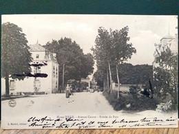 21 , Is Sur Tille , L'avenue Carnot En 1904.......petite Trace D'encre - Is Sur Tille