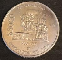 MEXIQUE - MEXICO - 5000 PESOS 1988 - Industrie Pétrolière - KM 531 - Mexico