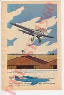 Terrain D'Aviation Istres Record De Vitesse 1924 Avion Bernard-Ferbois Aviateur Adjudant Bonnet + Trident II   249/3 - Sin Clasificación