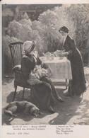 L' Heure Du Thé - Raoul Carré (Salon De 1913) - Société Des Artistes Français - Pintura & Cuadros