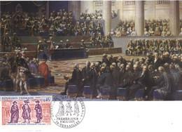 """FRANCE 1971 Carte Maximum 1er Jour  FDC  """" Ouverture Des Etats Généraux """" - French Revolution"""