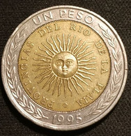 ARGENTINE - ARGENTINA - 1 PESO 1995 B ( PROVINGIAS En Légende ) - KM 112.3 - Argentina