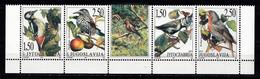BIRDS , YUGOSLAVIA ,  MICHEL 2809 , MNH - Sperlingsvögel & Singvögel