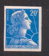 20 F Marianne De Muller YT 1011B De 1957 Essai De Couleur Trace Charnière RARE - No Dentado