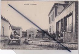 Baconnes (51) L'Entrée , Café A.GALLOIS. (belle Animation) - Other Municipalities