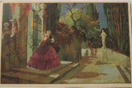 """""""Künstlerkarte"""" 1929, Sig.  Ezio Anichini ♥  - 1900-1949"""