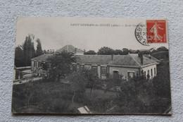 Cpa 1914, Saint Germain Des Fossés, école Communale, Allier 03 - Other Municipalities