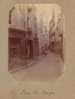 1896 Photo De Saint Malo Bretagne Rue Du Boyer - Luoghi