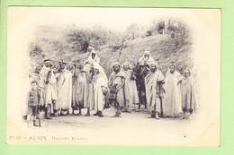 ALGERIE - ALGER - Mariage Kabyle , Superbe Plan - Animée - Photo Arnold VOLLENWEIDER - Dos Simple - 2 Scans - Alger