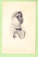 ALGERIE - ALGER - Femme De BOU-SAADA , Superbe Portrait - Photo Arnold VOLLENWEIDER - Dos Simple - 2 Scans - Alger