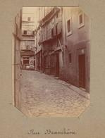 1896 Photo De Saint Malo Bretagne Rue Beauchêne - Luoghi