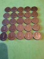 Lot De 25 Monnaies Françaises D'un Centime Epi - A. 1 Centime