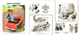 """"""" BELLUS COLOR """" + """" Les MEILLEURS DESSINS De BELLUS """" 1973  ( 14) - Sonstige"""