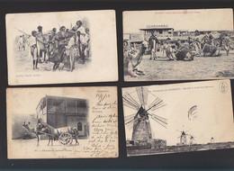 Ethiopie / Lot De 7 CP / Djibouti, Abane Issa, Caravannes, Vendeuses Lait, Somalis, Moulin Salines, Harrar - Ethiopia