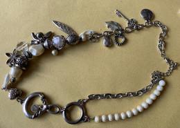 Sierjuwelen, Zilverkleurige Ketting - Halsketten