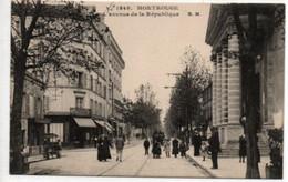 Montrouge- L'Avenue De La République - Montrouge