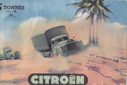 Citroën  Camion 5 Tonnes  Type 46 - Pubblicitari