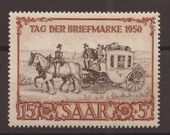 SARRE TAG DER BRIEFMARKE 1950 - Non Classés
