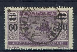 Mauritanie, 60/75c, Caravane Dans Le Désert, 1922, Obl, TB  Joli Cachet De BOGHE - Used Stamps