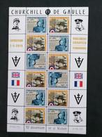 Charles De Gaulle 70e Anniversaire De La Victoire Feuille  ** - Unused Stamps