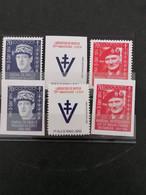 Charles De Gaulle 1944 Président Du G. P. R. A. - Unused Stamps
