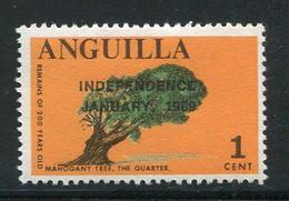 ANGUILLA- Y&T N°1- Neuf Avec Charnière * (surchargé) - Anguilla (1968-...)