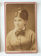 FOTO 800 TAUFFER E VERESS ROMANIA Formato Carta Da Visita (6,2 X 10) Foto Tauffer és Veress Gyula Romania Foto Di Giovan - Oud (voor 1900)