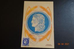 Carte Maxi De 1943 - 1940-49