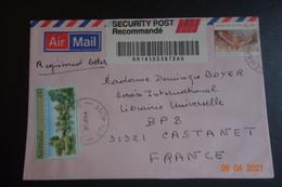 Lettre Recommandée SEMAPHORE - Cartas
