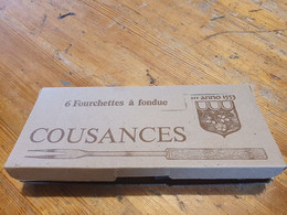 Cousances Fourchettes à Fondue 6 - Forks