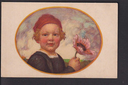 D37 /   Kunstkarte Hirth Jugend Postkarte , Zumbusch / Kinder , Bayern Blumentag 1913 - Unclassified